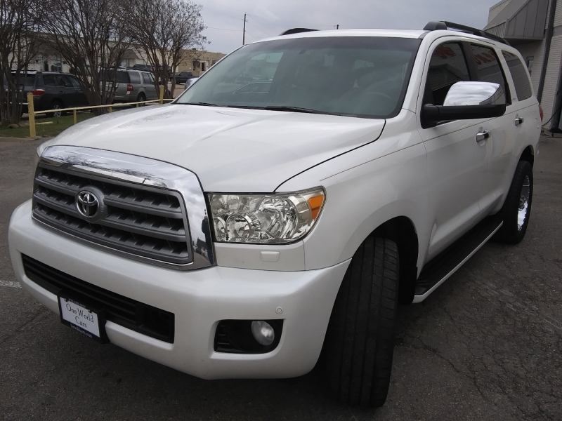Toyota Sequoia Platinum 4WD 1 Owner 2012 price $22,995 Cash
