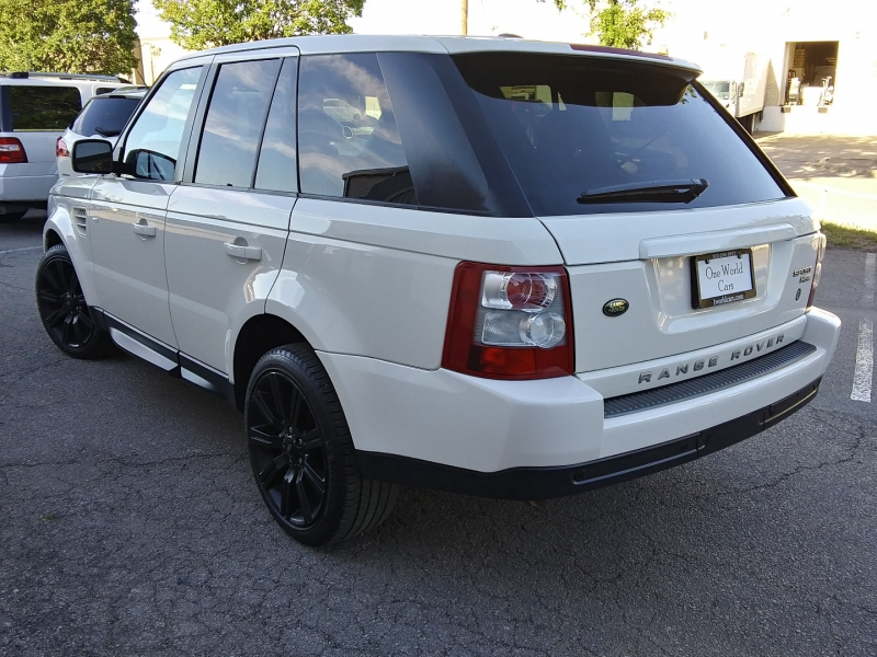 Land Rover Range Rover Sport HSE 1 Owner 2009 price $14,495 Cash