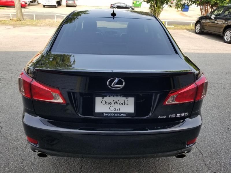 Lexus IS 250 AWD Auto Nav 2012 price $15,995 Cash