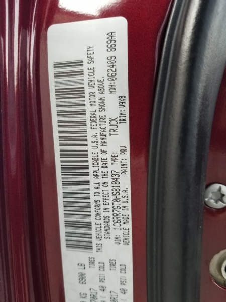 RAM 1500 SLT 4X4 5.7L V8 2017 price $21,995 Cash