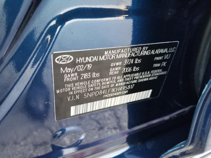 Hyundai Elantra SEL Factory Warranty 2019 price $16,995 Cash