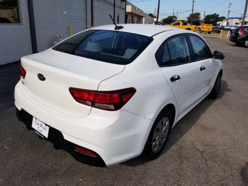 Kia Rio 1 Owner Factory Warranty 2018 price $14,495 Cash