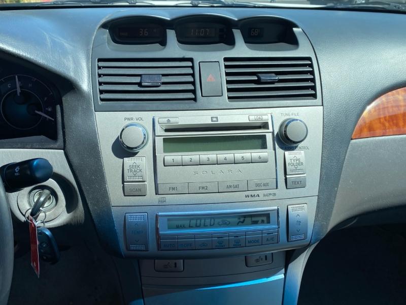 Toyota Camry Solara 2007 price $10,850
