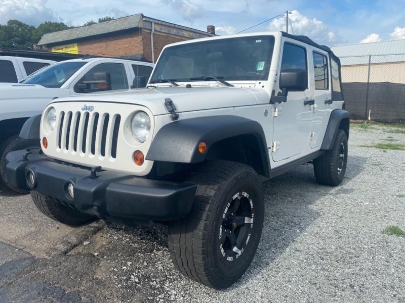 Jeep WRANGLER UNLIMI 2010 price $14,250