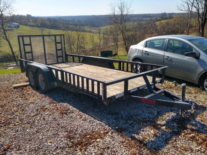 - 16 FT. TRAILER 2013 price $1,999