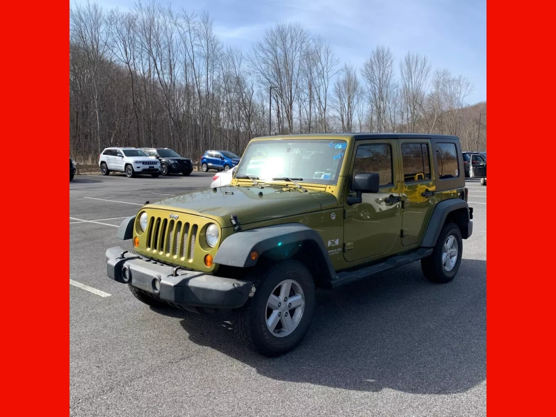 Jeep Wrangler 2008 price $9,995