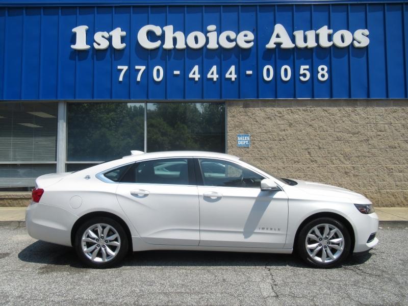 Chevrolet Impala 2017 price $13,999