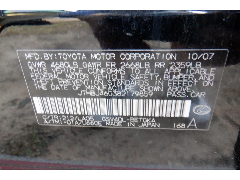 Lexus ES 350 2008 price $5,300