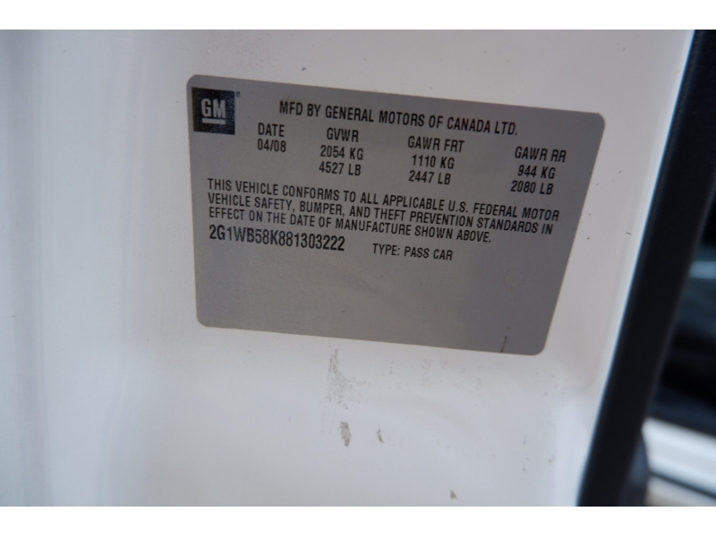 Chevrolet Impala 2008 price $3,900