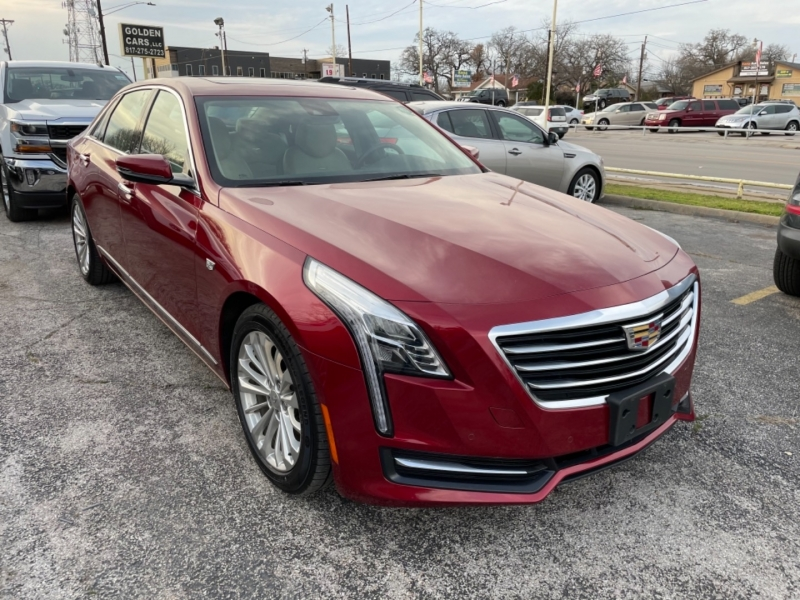 Cadillac CT6 2018 price $27,260