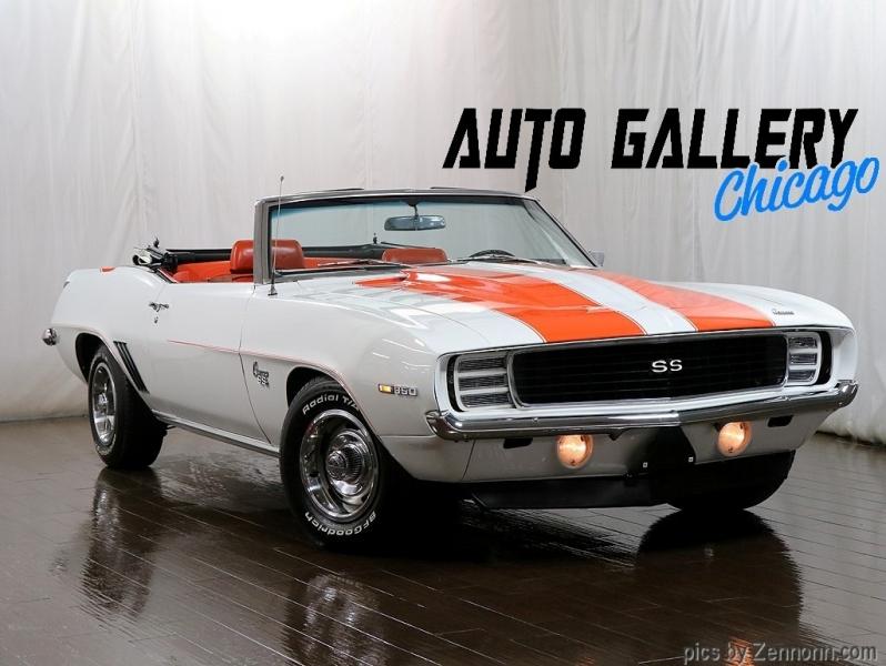 Chevrolet Camaro 1969 price $64,990