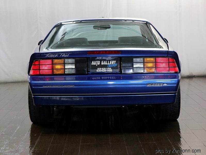 Chevrolet Camaro 1987 price $29,990