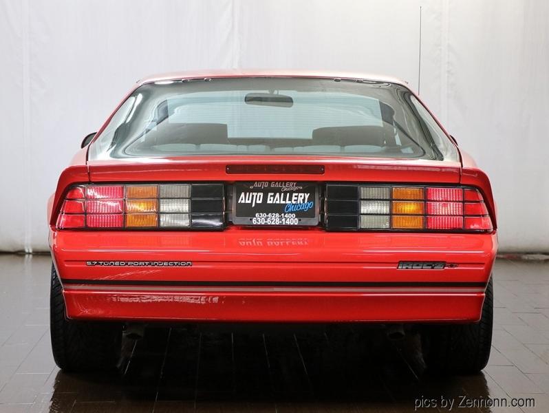 Chevrolet Camaro 1989 price $17,990