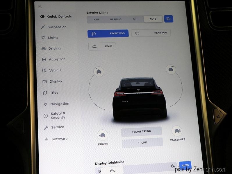 Tesla Model X 2017 price $68,990