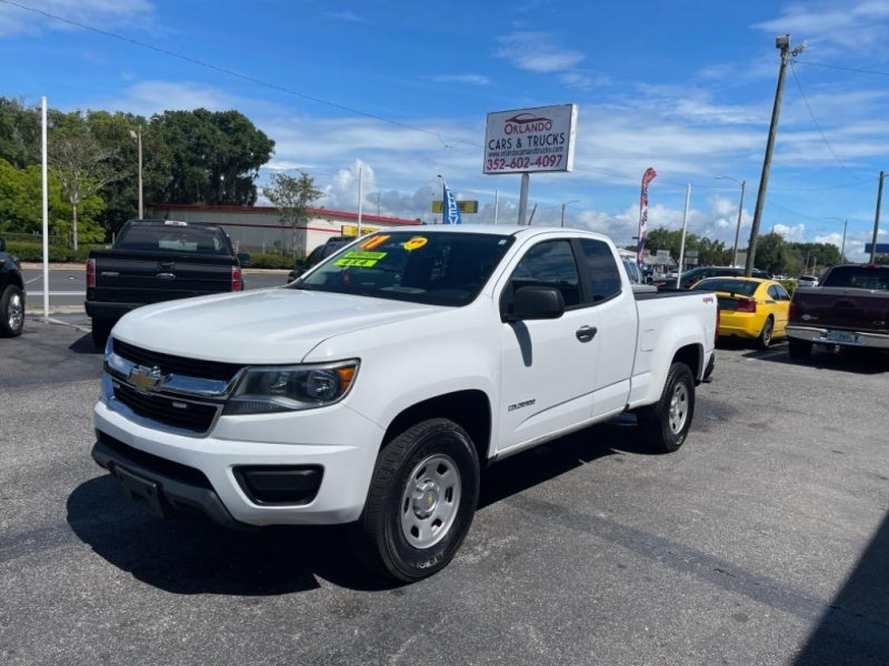 Chevrolet Colorado 2017 price $21,545