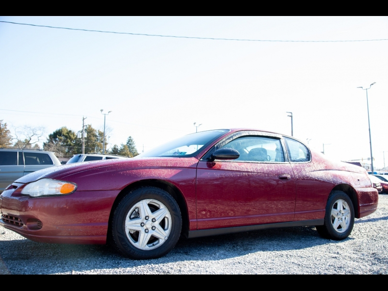 Chevrolet Monte Carlo 2005 price $3,795