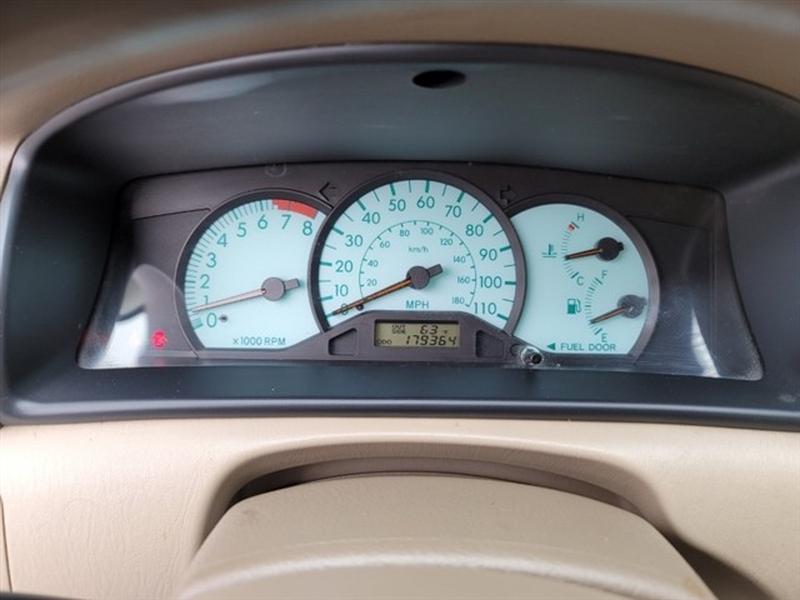 Toyota Corolla 2003 price $0