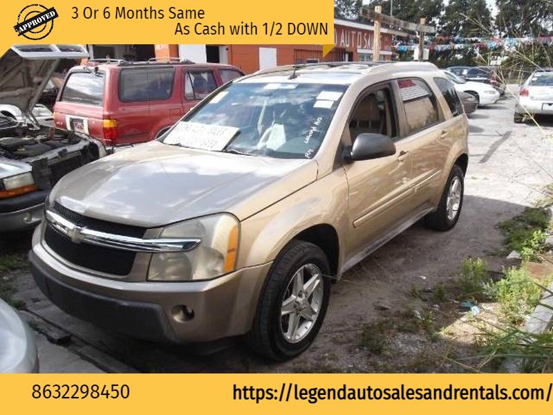 Chevrolet Equinox 2005 price $1,999