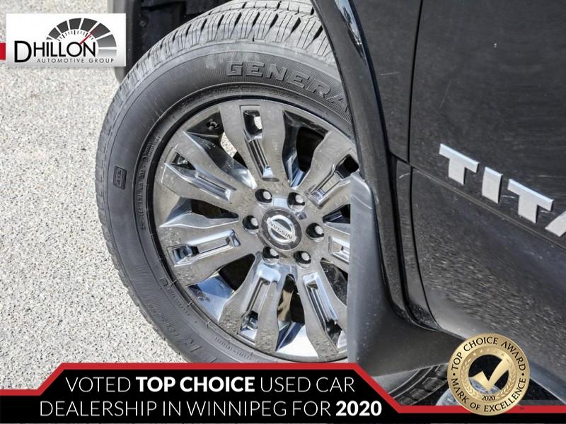 Nissan Titan 2017 price $39,980