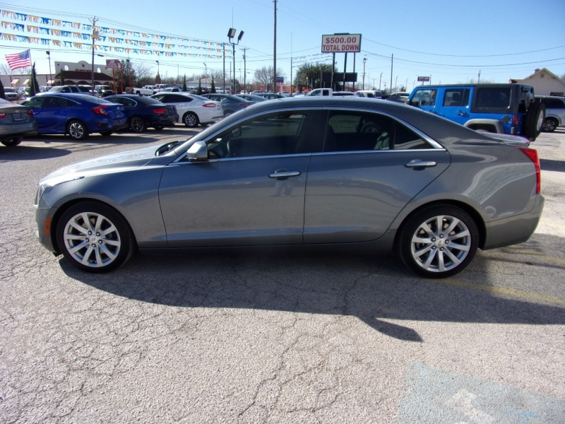 Cadillac ATS Sedan factory warranty 500totaldown.com 2018 price $19,995