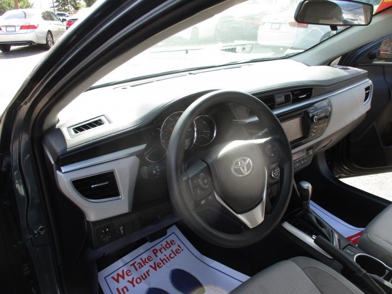 Toyota Corolla 2015 price $12,995