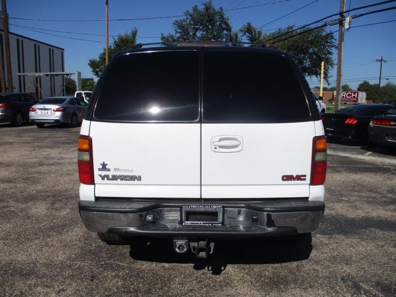 GMC Yukon 2001 price $5,995