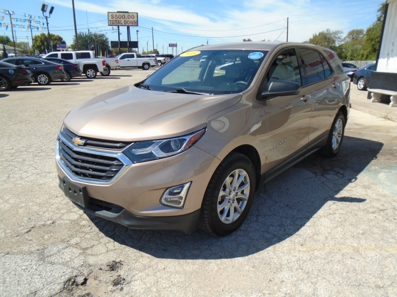 Chevrolet Equinox 2018 price $19,500