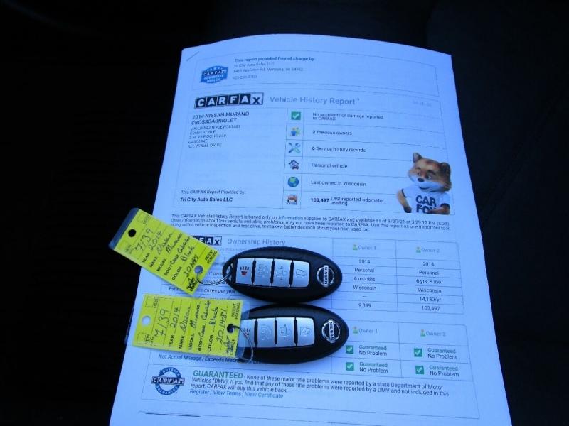 Nissan Murano CrossCabriolet 2014 price $17,995