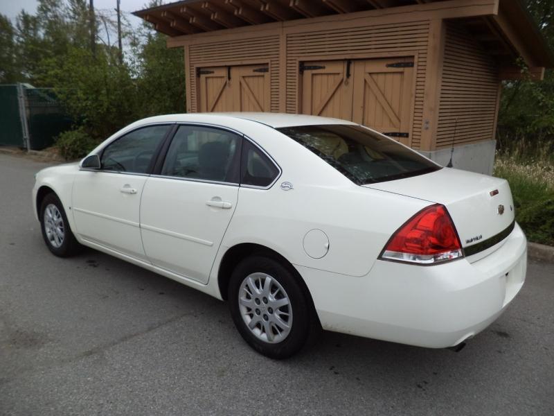 Chevrolet Impala Police 2008 price $4,450