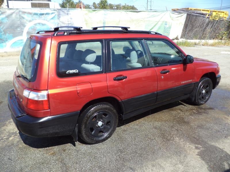 Subaru Forester 2002 price $3,450