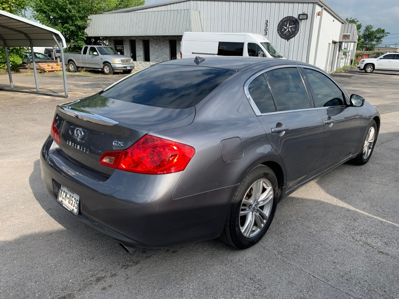Infiniti G25 Sedan 2012 price $8,995