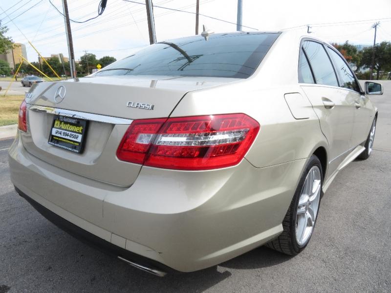 Mercedes-Benz E-Class 2012 price $12,850