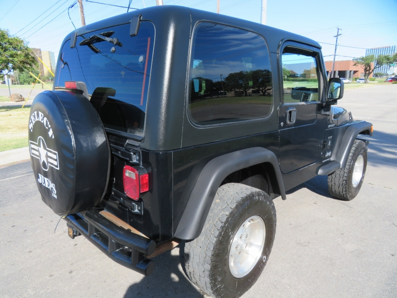 Jeep Wrangler 2003 price $9,890