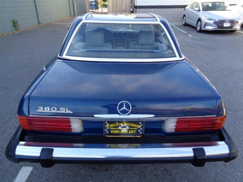 Mercedes-Benz SL-Class 1983 price $6,990