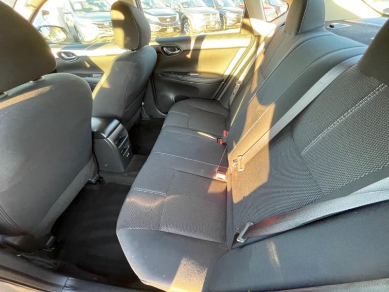 Nissan Sentra S CVT 2017 price $8,998