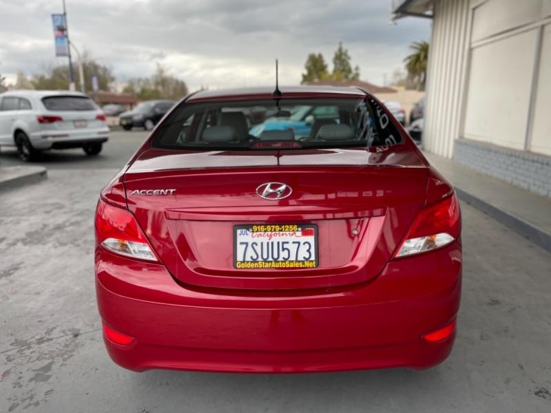 Hyundai Accent 2016 price $8,998