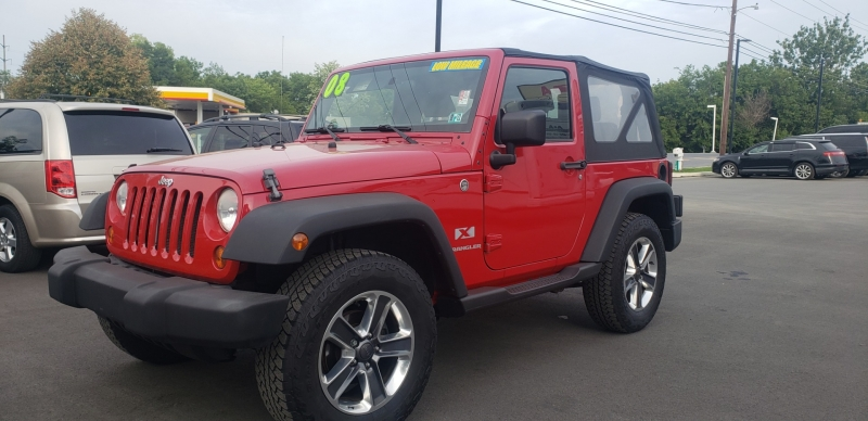 Jeep Wrangler 2008 price $14,500