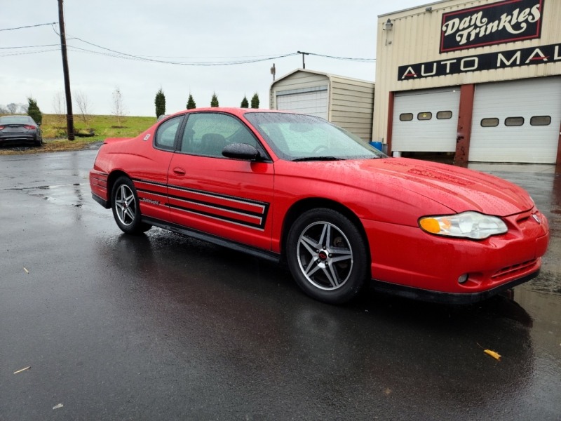 Chevrolet Monte Carlo 2004 price $3,500