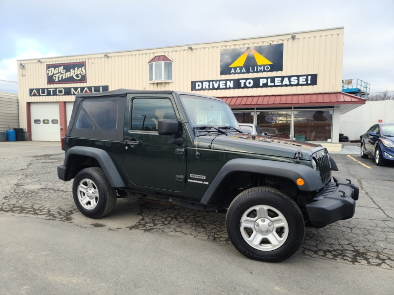 Jeep Wrangler 2011 price $12,000