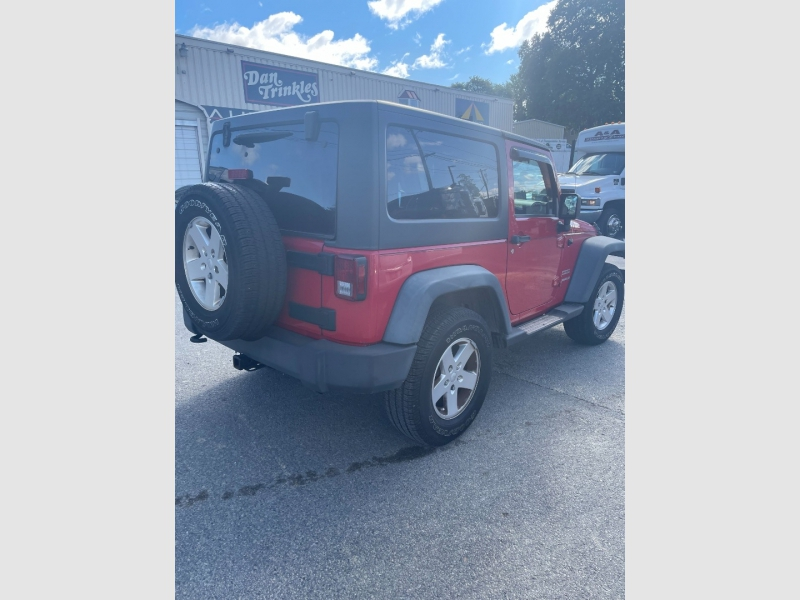 Jeep Wrangler 2012 price $16,900