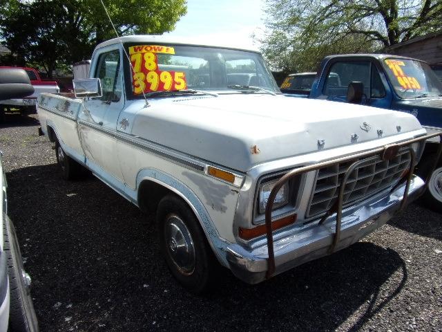 Ford Ranger 1978 price $3,400