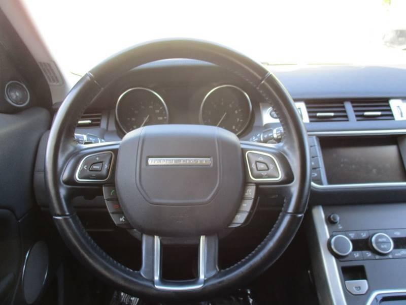 Land Rover Range Rover Evoque 2017 price $25,999