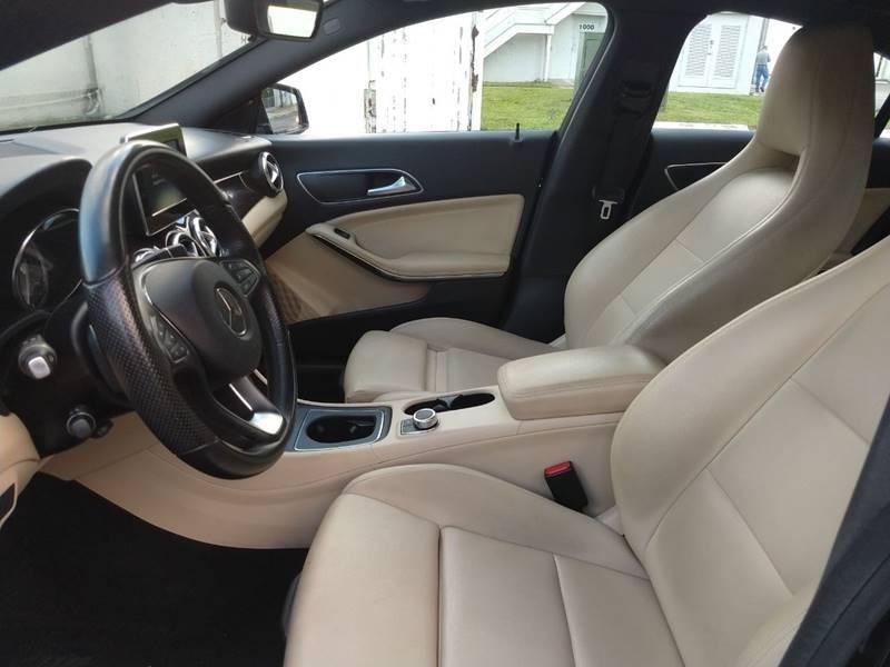 Mercedes-Benz CLA 2016 price $18,499