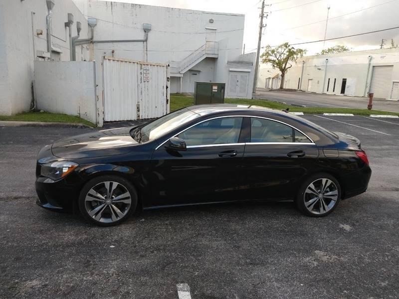 Mercedes-Benz CLA 2016 price $15,499
