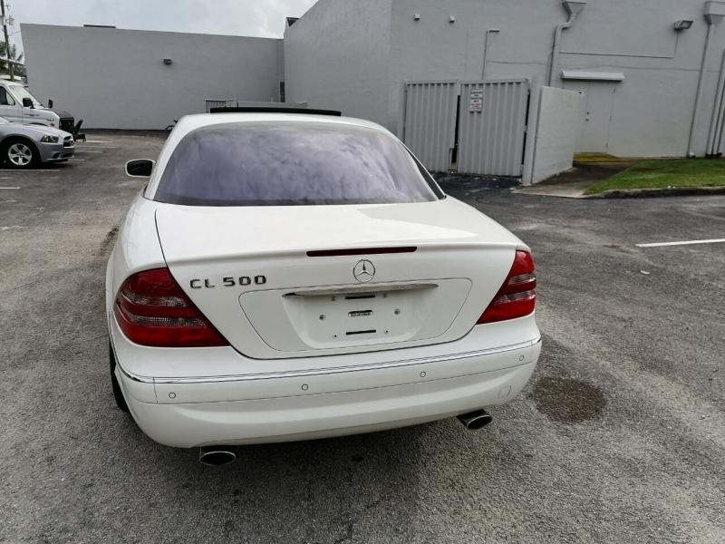Mercedes-Benz CL-Class 2002 price $14,999