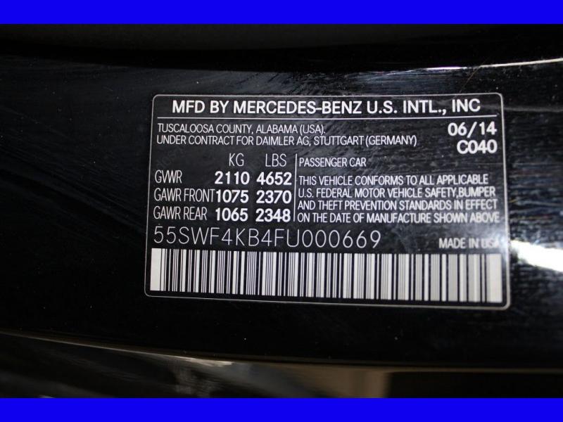 MERCEDES-BENZ C-CLASS 2015 price $19,795