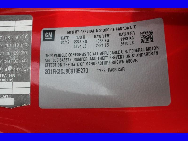 CHEVROLET CAMARO 2012 price $17,999