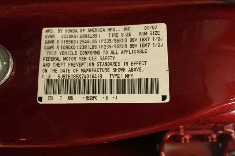 ACURA RDX 2007 price $8,999