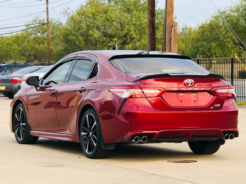 Toyota Camry XSE TRD Package 1 owner 2018 price $20,995