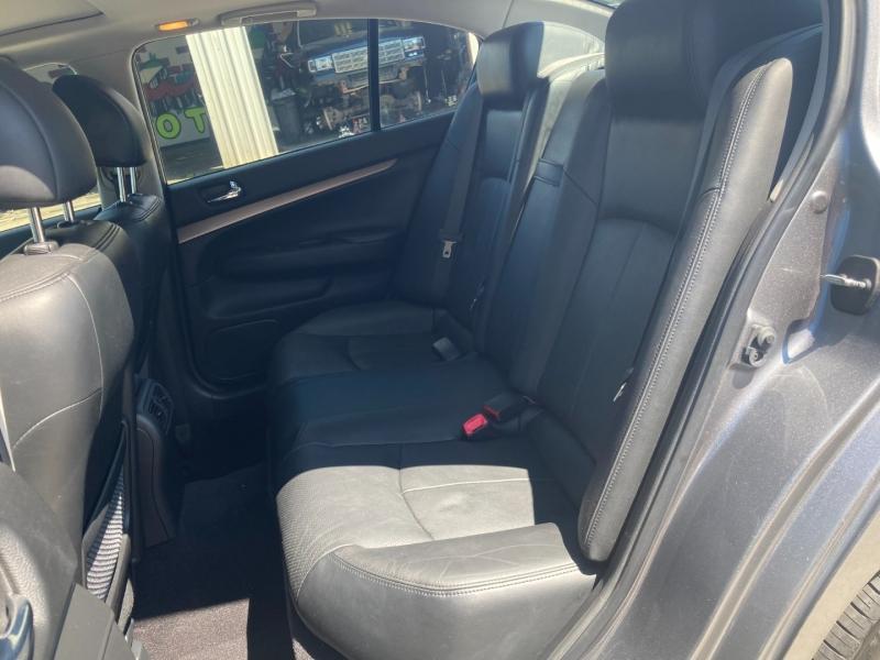 Infiniti G37 Sedan 2011 price $8900
